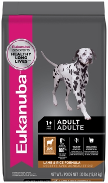 Eukanuba Adult Lamb & Rice Dry Dog Food 30lb