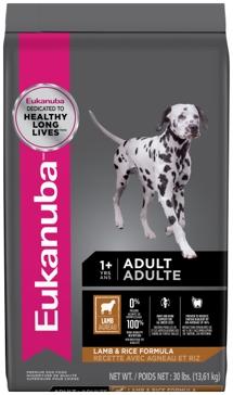 Eukanuba Adult Lamb & Rice Dry Dog Food 30lb