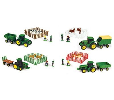 John Deere 1:64 Farm Set 10pc Asst.