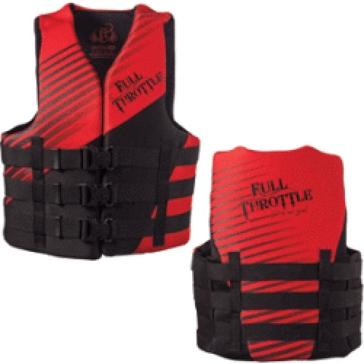 Full Throttle Adult Universal Ski Vest 112000-50000414