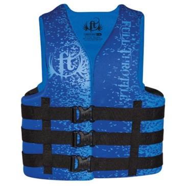 Full Throtle Adult Rapid Dry Life Vest 142000-50005016