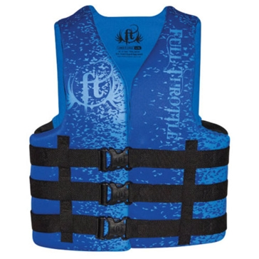 Full Throtle Adult Rapid Dry Life Vest 142000-50008016