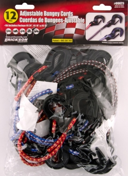 Erickson  Adjustable Bungey Cord Multiple Sizes (Pack of 12)