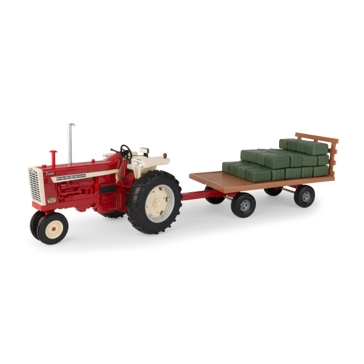Ertl 1:16 Big Farm Farmall 1206 & Hay Wagon