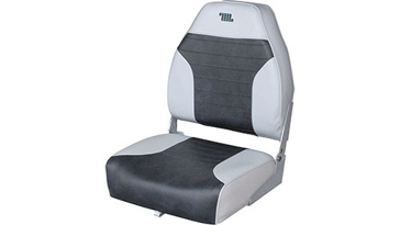 Wise Mid Back Fold Down Boat Seat 8WD588PLS-664
