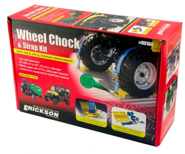 Erickson Wheel Chock Tie Down Kit