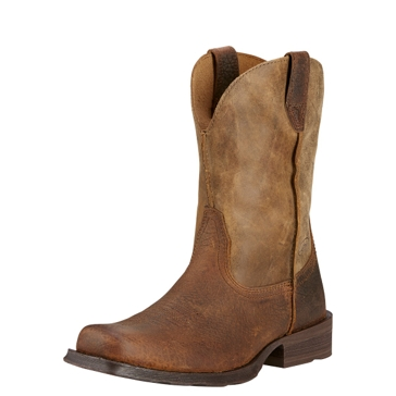 Ariat Mens Rambler Square Toe Cowboy Boots