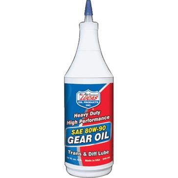 Lucas 32 Oz. Heavy Duty Gear Oil SAE 80W-90 10043