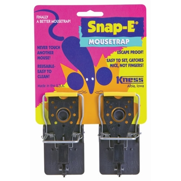 Kness Snap-E Mousetrap Twin Pack 102-0-046