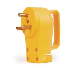 CAMCO Power Grip 55245 Replacement Male Plug, 30 A, 125 V