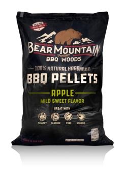 Bear Mountain BBQ Pellets 20lb Apple FK12