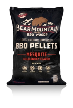 Bear Mountain Wood Grilling Pellets 20lb Mesquite