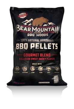 Bear Mountain Wood Grilling Pellets 20lb Gourmet Blend