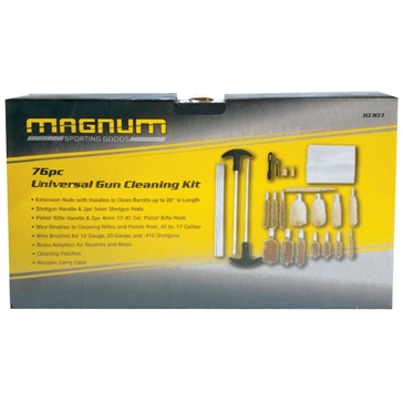 Magnum Gun Cleaning Kit Wood Box