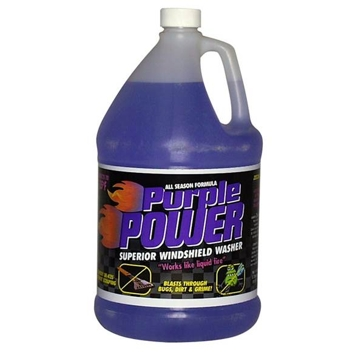 Zecol Purple Power 1 Gallon Windshield Solvent