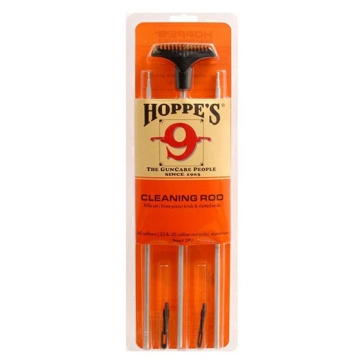 Hoppes 9 Three-Piece Rifle Cleaning Rod Set