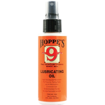 Hoppes 9 Gun Cleaning Lubricating Oil 4oz Spray Can