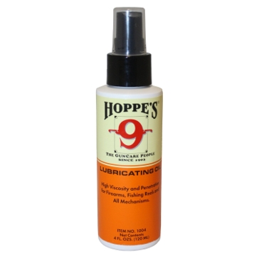 Hoppes-9 Gun Cleaning Lubricating Oil 4fl.oz.