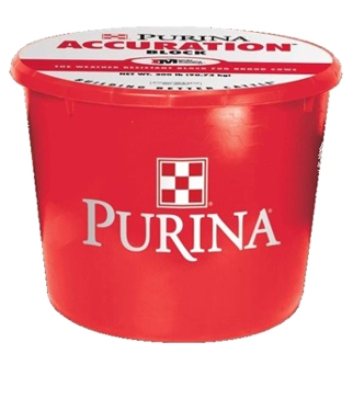 Purina Accuration Block 200lbs
