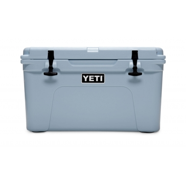 YETI Tundra YT45B Ice Cooler, 34 lb Ice, 28 Cans Beer Capacity, Polyethylene, Blue, Polyester Handle