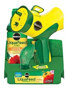 Miracle-Gro LiquaFeed Advance Starter Kit with Garden Feeder, 16 oz. Bottle