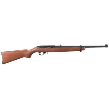 "Ruger 10/22 Carbine .22 18.5"" Wood Stock Autoloading Rifle"