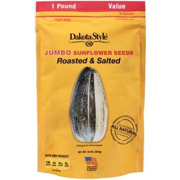 Dakota Jumbo Sunflower Seeds - 1 Lbs. Original