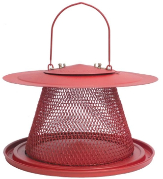 PERKY-PET® RED CARDINAL WILD BIRD FEEDER C00322