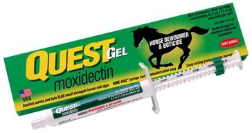 Quest GEL Horse Dewormer & Boticide 169925