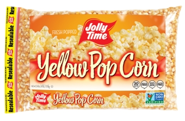 Jolly Time Yellow Pop Corn- 4LB.