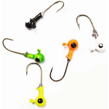 Erie Dearie 10 Pack Game Fish Jigs 1/16 Oz