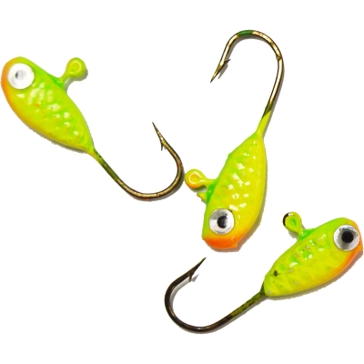 Erie Dearie 6 Pack Game Fish Jigs 1/32 Oz