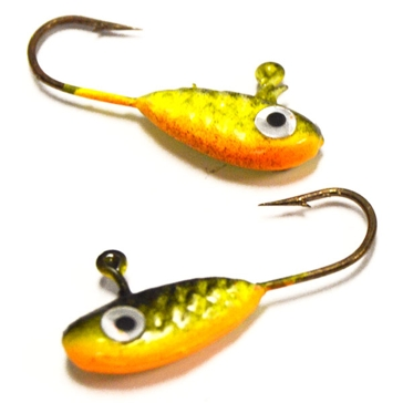 Erie Dearie 6 Pack Game Fish 1/32 Oz Jigs