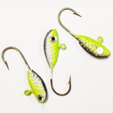 Erie Dearie 6 Pack Game Fish Jigs 1/16 Oz