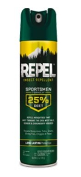 Repel Sportsmen 25% Deet Insect Repellent - 6.5 Oz.