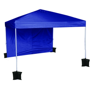 World Famous Easy Set Up 10x10 Canopy Blue Color