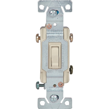 Cooper Ivory 3 Way Toggle Switch 1303-7V