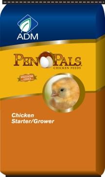 ADM Pen Pals Starter Grower Chicken Feed 5lb