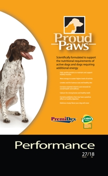 Proud Paws Performance Dry Dog Food 40lb