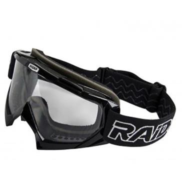 Raider Surge Black Goggles