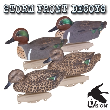 Flambeau StormFront Classic Green Winged Teal Decoys