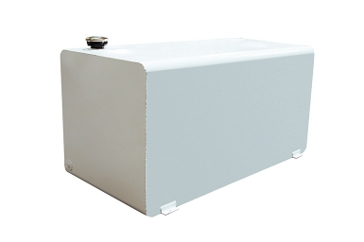 DeeZee 110 Gallon White Rectangle Transfer Tank