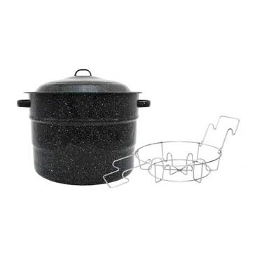 Granite Ware Canner w/ Jar Rack 21.5Qt