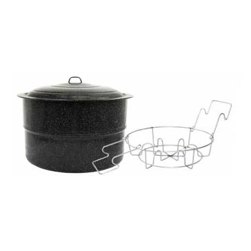 Granite Ware Canner w/ Jar Rack 33Qt