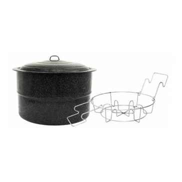 Granite Ware Canner w/ Jar Rack 33Qt