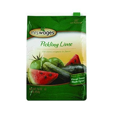 Mrs. Wages Pickling Lime 16oz