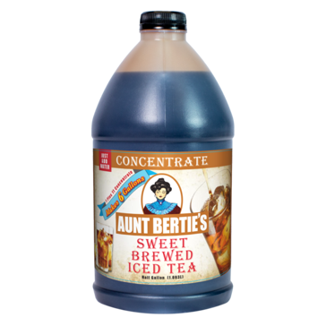 Aunt Bertie's Sweet Tea Concentrate 1/2 Gallon