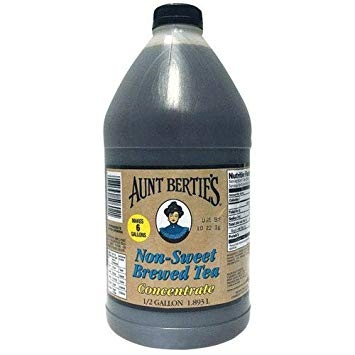 Aunt Bertie's Un-Sweet Tea Concentrate 64oz