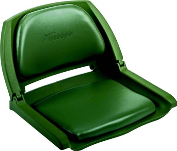 Wise Fold-Down Boat Seat - Olive Green