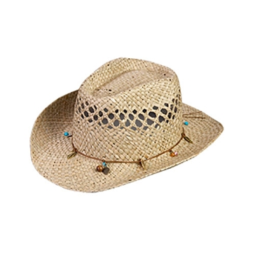 Broner Girls Barn Dance Western Straw Hat (4-7 years)